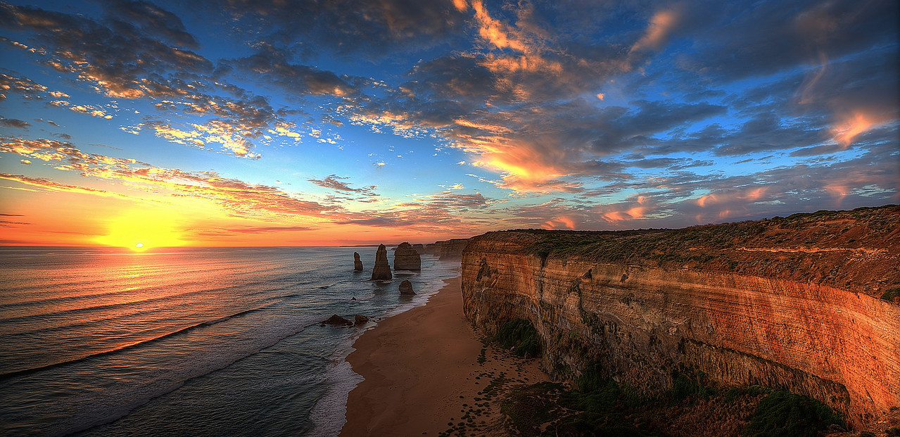 12 Apostles sunset, Victoria