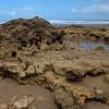 Rocks near Back Beach in Torquay