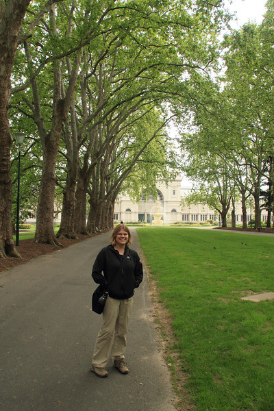 Carlton Gardens and the Royal Exhibition Building