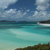 Whitehaven Beach, as seen from the Whitsunday Island Lookout