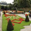 Schloss Mirabell's gardens