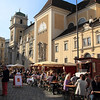 A wine festival on the streets of Viena