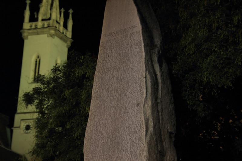 Memorial against war and fascism
