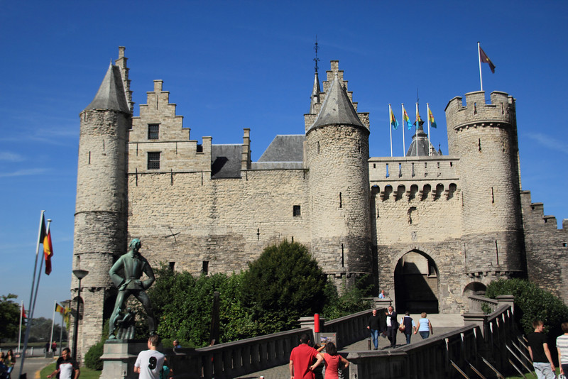 Het Steen, a fortress originally built to protect the city from Vikings.
