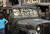 Because it was a WWII holiday, there were a lot of old vehicles on display