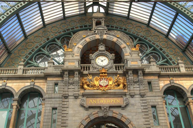 Anterp's train station