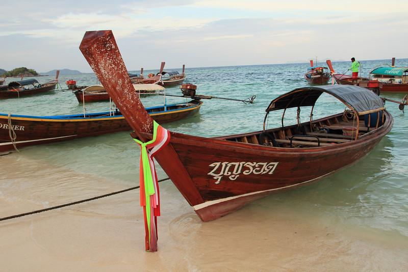 Ko Lipe longtail boats