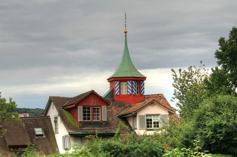On Lindenhof hill