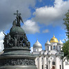 The Millennium of Russia monument with St. Sophia Cathedral in the background