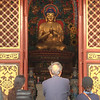 Big Buddha statue at Yuantong Temple