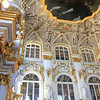 The museum was enormous and comprised of the Hermitage and the Winter Palace, the residence of several Russian czars