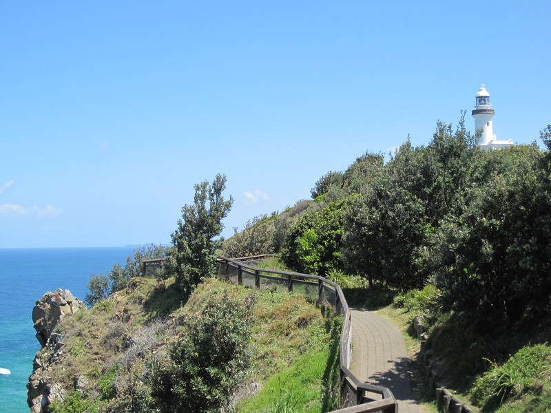 Walk to the Cape Byron lighthouse