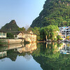 Yangshuo at sunset