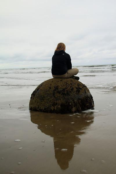 Nikki's found her rock!