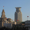Historic European-style buildings of the Bund