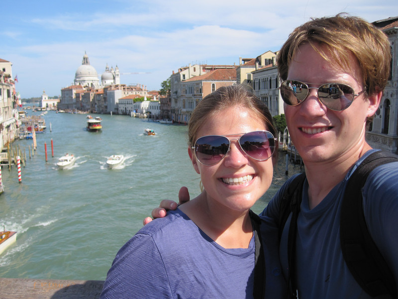Overlooking the Grand Canal