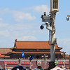 Tiananmen Square. Police, checkpoints, and security cameras were everywhere around here.