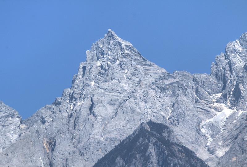 Shanzidou, the highest peak of Jade Dragon Snow Mountain