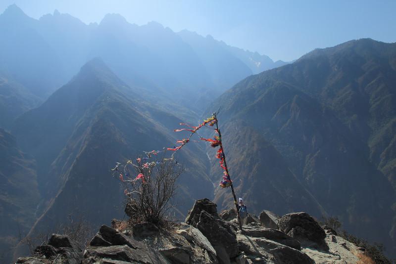 The highest point of the trail, 2670 meters