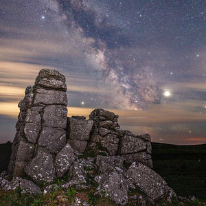 Hounds Tor Milky Way