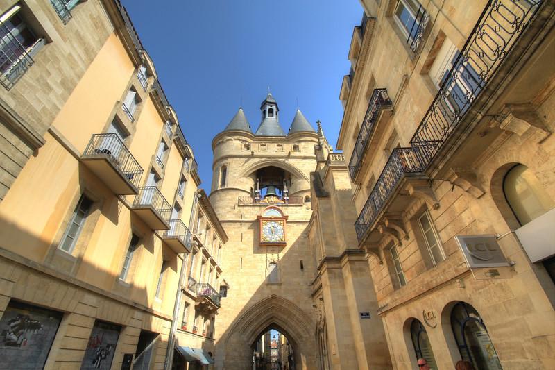 Bell tower on Rue Saint-James