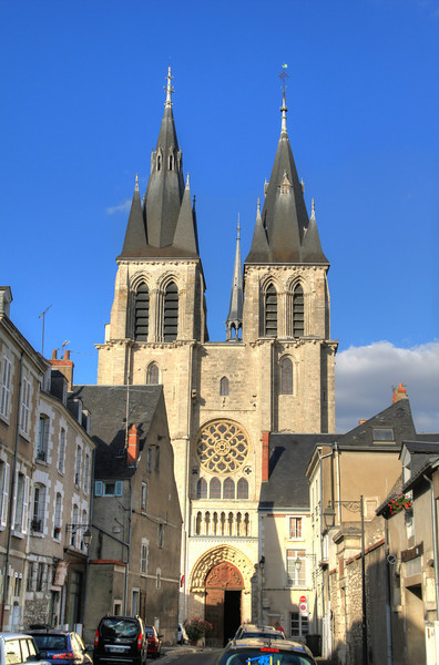 Cathedral in Blois
