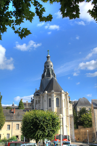 The cathedral in Blois