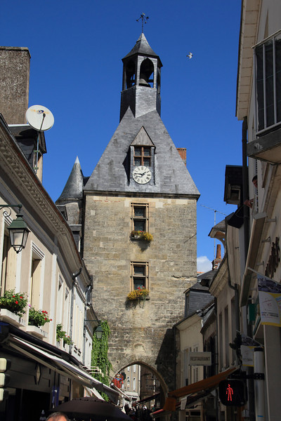 Clock tower in Amboise
