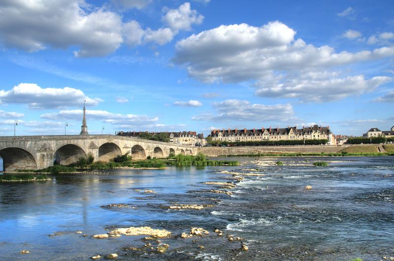 Loire River in Blois