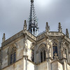 Chateau in Amboise. The antlers on the spire are pretty fun.
