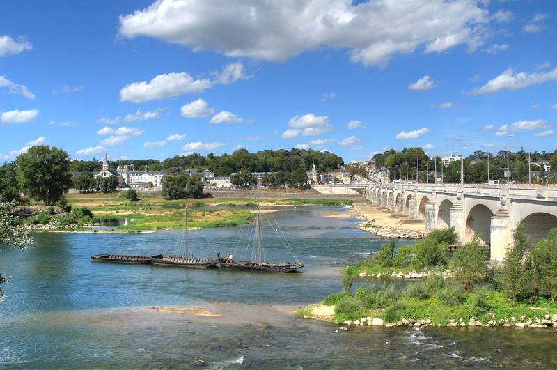 The Loire River in Tours