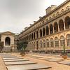 Hôpital Hôtel-Dieu. It's a hospital courtyard