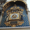 Clock on the Palais de Justice