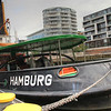 An old tugboat, the Hamburg