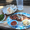 Our super-cheap yet delicious grilled fish by the beach