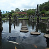 Mahabharata Pond in the Tirta Gangga (water palace)