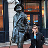 A very famous Dubliner, James Joyce