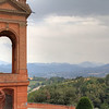 Finally at the top! The long uphill road leads to the amazing Sanctuary of the Madonna di San Luca