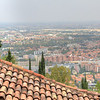 The view of Bologna from the top