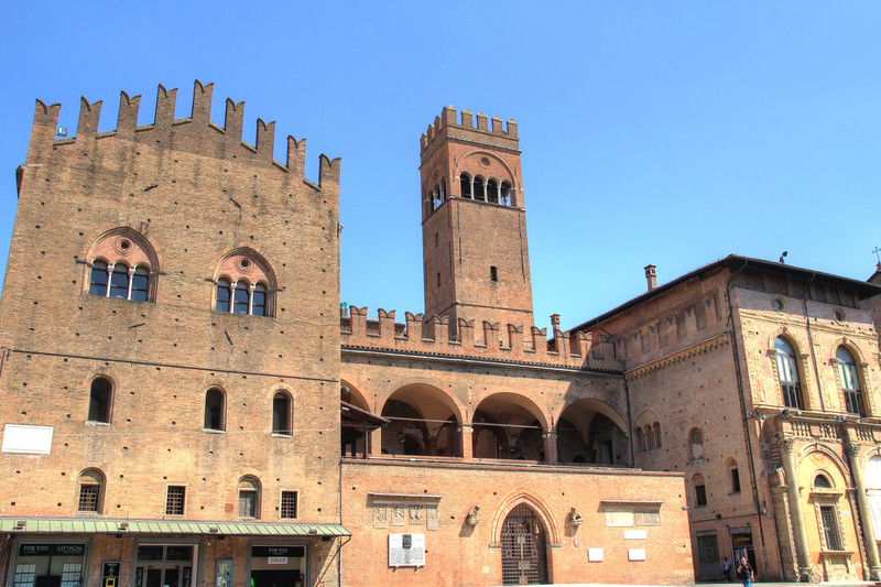 Historic center of Bologna