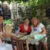 Stopping for some wine in Corniglia