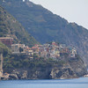 Looking back on Manarola from Corniglia