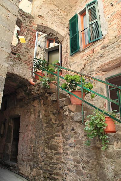 Alleyway in Corniglia