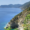 Looking out to Monterosso from Corniglia