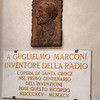 Inside the Santa Croce are buried some very famous people, such as the inventor of the radio