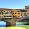 The Ponte Vecchio is the only Florentine bridge that survived WWII. It goes back to 1345, and today is lined with jewelry shops