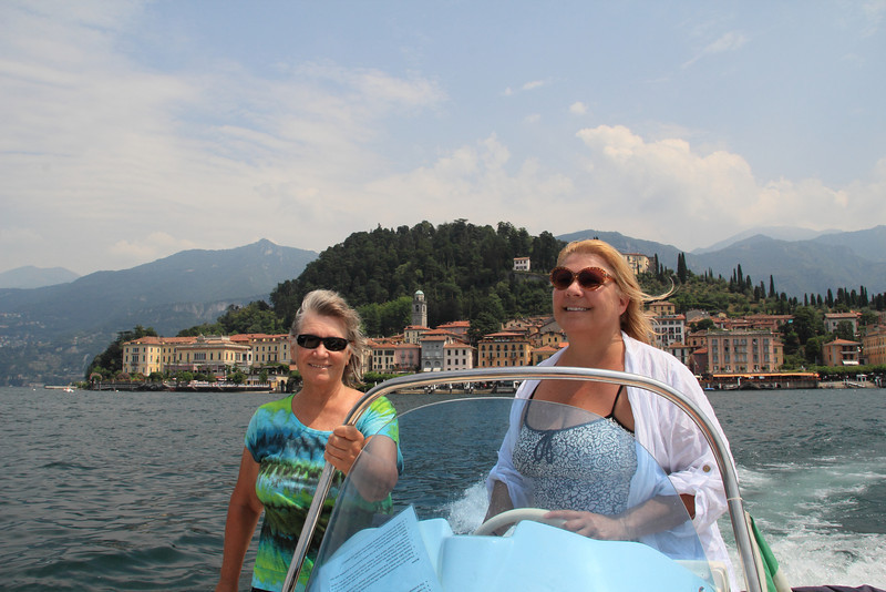 Cruising around near Bellagio