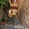 Steep alleyway in Varenna