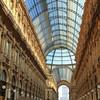 The stunning Galleria Vittorio Emanuele II