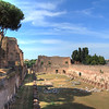 The Stadium on Palatine Hill. This was actually used as a garden where art was exhibited